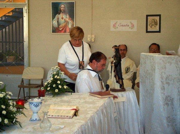 El 29 de abril de 2006, Fiesta de Santa Catalina de Siena, hice mi promesa perpetua en la Tercera Orden de Santo Domingo de Guzmán.