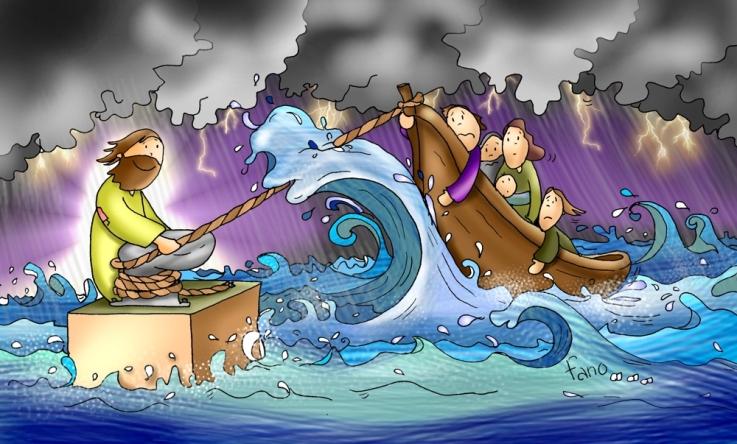 Jesus tempestad