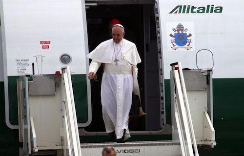 Papa Francisco Alitalia