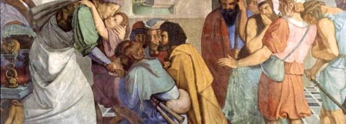 José se da a conocer a sus hermanos (Gn 45,3-4).