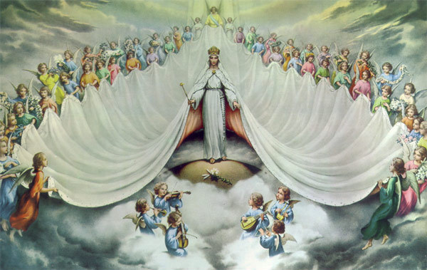 maria reina del universo