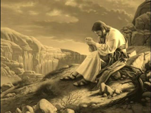 Jesus en oracion