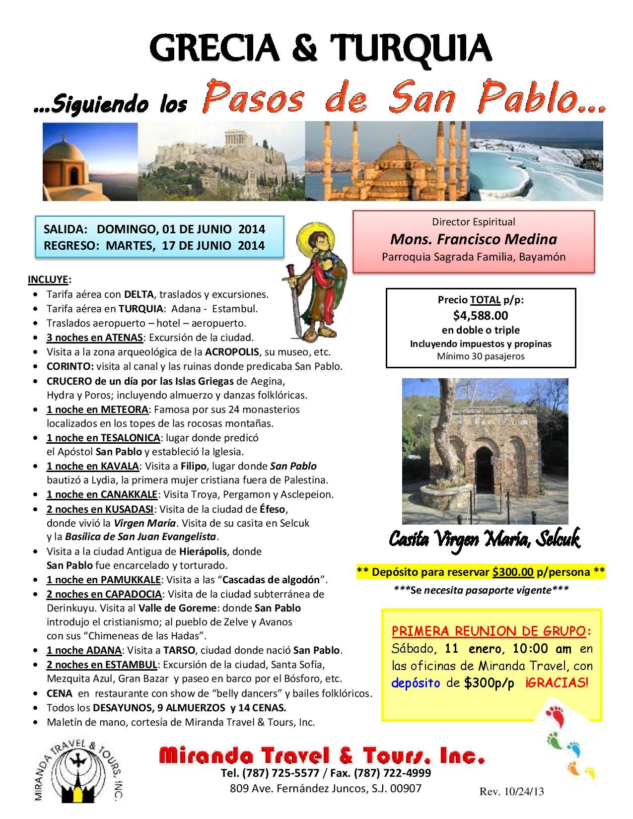 Pasos de San Pablo - Mons. Francisco Medina - 1-17 junio 2014 (1)-page-001