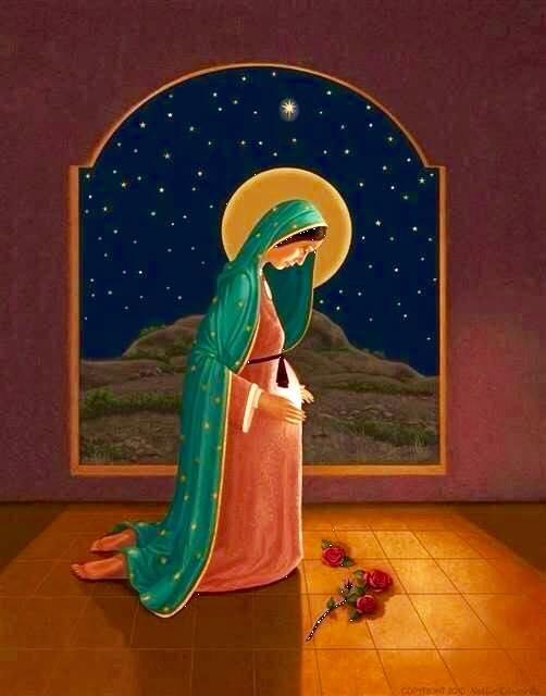 Resultado de imagen para Vivir el Adviento con María