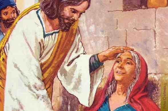 Curacion de la suegra de Pedro