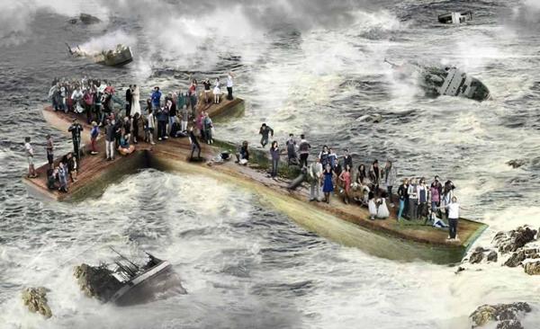 Jesus calma la tempestad