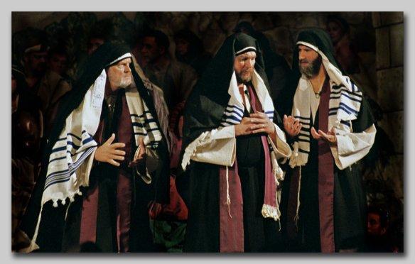 escribas y fariseos