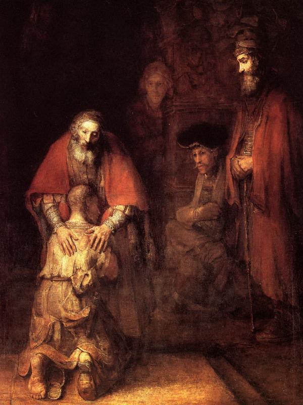 hijo prodigo rembrandt