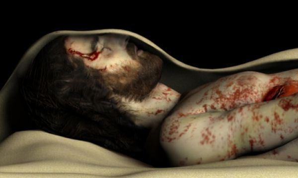 Jesus en la tumba