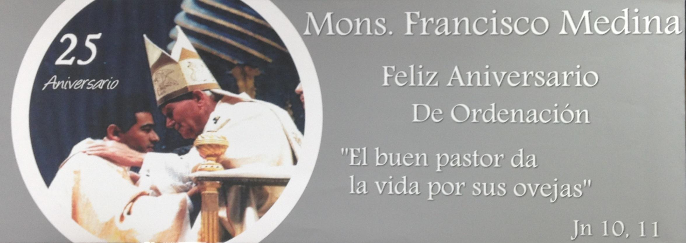Aniversario P. Francisco 2