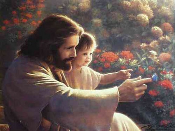 Jesus con nino