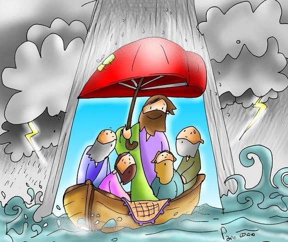 calma tempestades