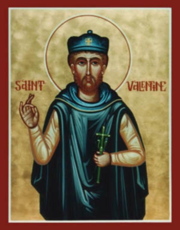 St. Valentine Icon