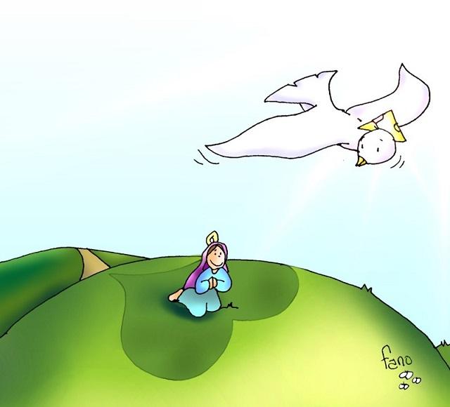 El Espiritu te cubrira con su sombra