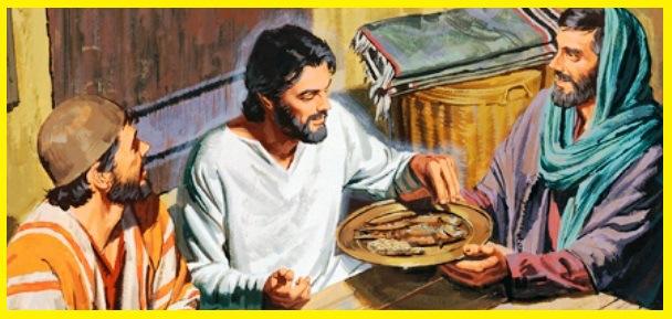Jesus come pescado