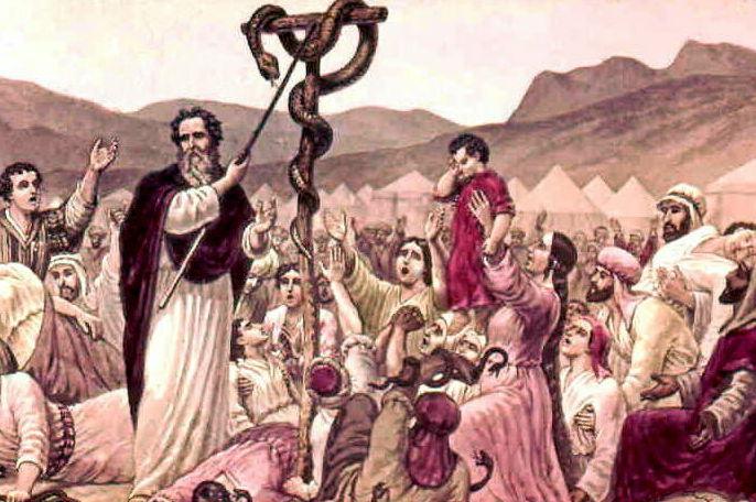 serpiente de bronce