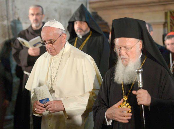Papa Francisco unidad de los cristianos