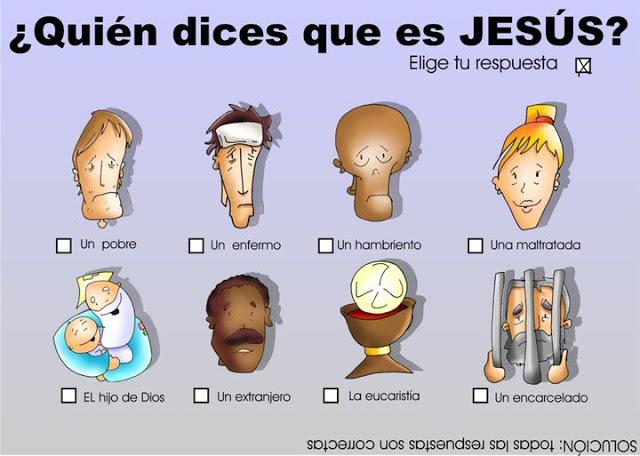 Quien dice la gente que es Jesus