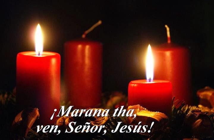 segunda vela Ven Señor Jesús