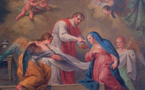 María comunión