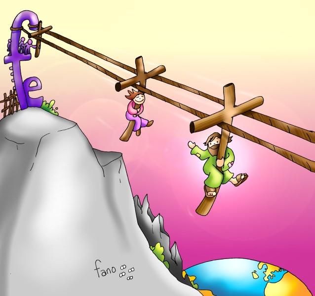 Toma tu cruz y sigueme