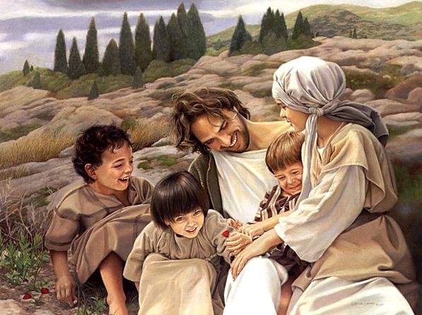 jesus con niños